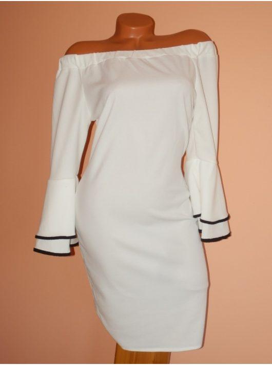 Gyönyörű,harangujjú,vállra húzható ruha! Több szín! S-M