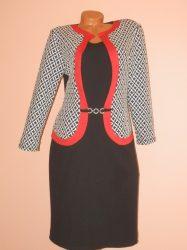Csodaszép,elegáns,mintás ruha! XL,XXL,3XL,4XL