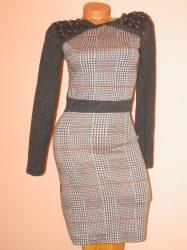 Csodaszép,mintás,gyöngyös ruha! S/M,M/L,L/XL
