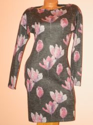 Csodaszép,tulipános RUCY FASHION ruha! S,M,L