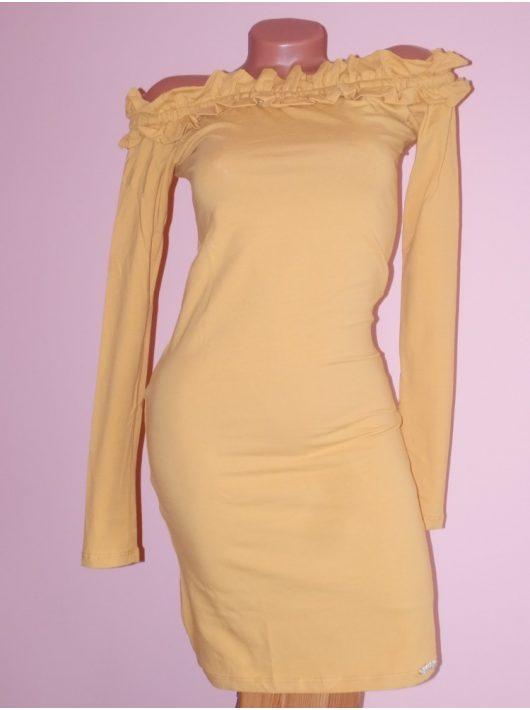 Csinos,fodros,vállra húzható ruha! Több szín! S-M