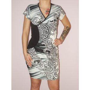 Görög mintás, átlapolt ruha! S,M,L,XL