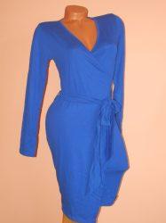 Szupercsinos,aszimmetrikus,átlapolt,öves ruha/ruha Több szín!
